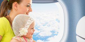 prendre l'avion avec un bebe