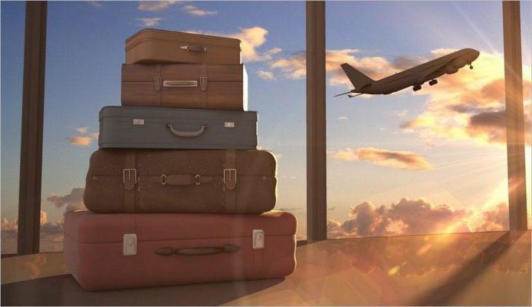 Valise en voyage