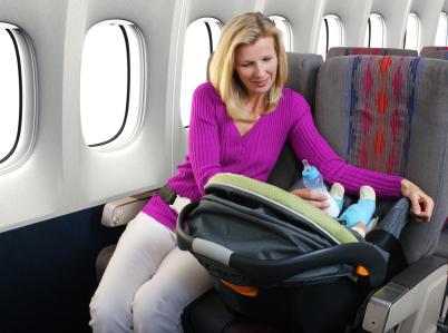 femme avion