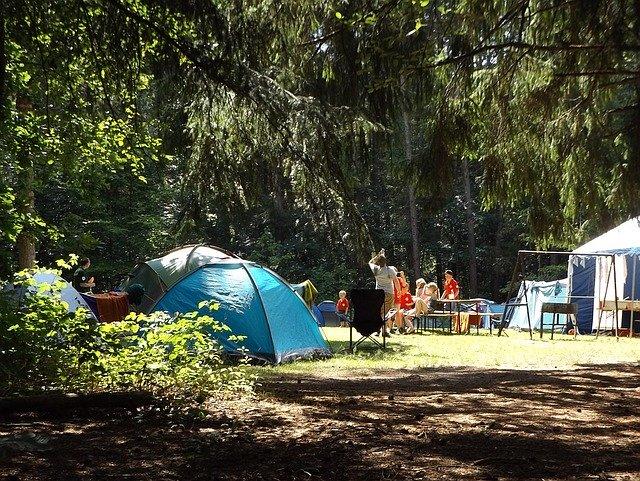 Le plaisir de séjourner dans un camping
